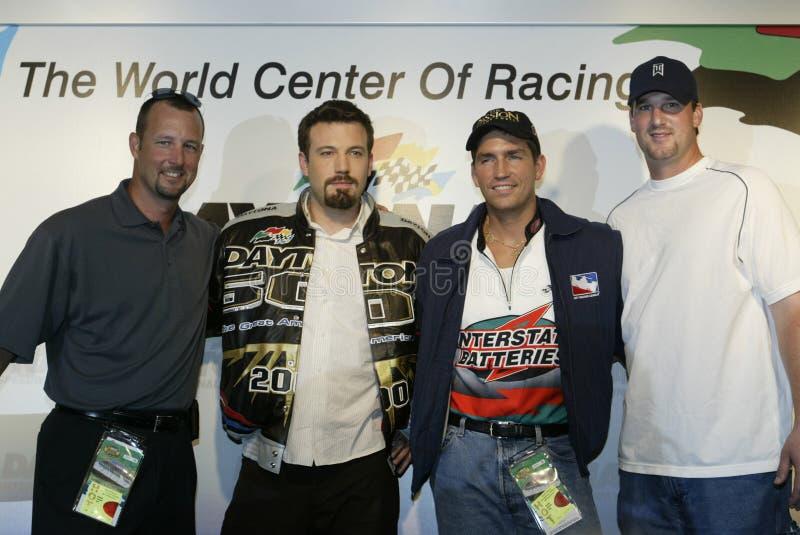 Kändisar deltar i Daytona 500 fotografering för bildbyråer