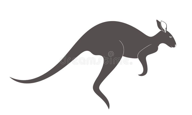 känguru angus vektor illustrationer