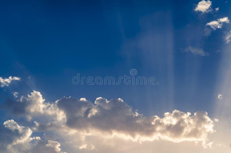 Känsel i himmel arkivbilder