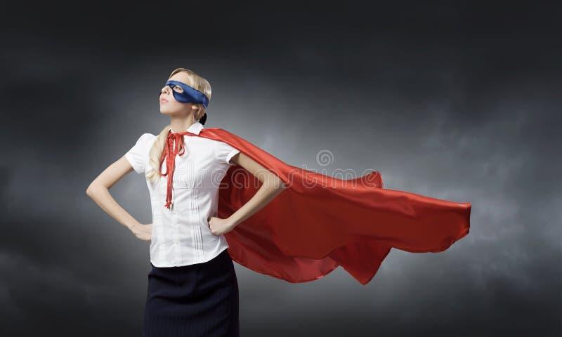 Känsel själv en hjälte! arkivbild