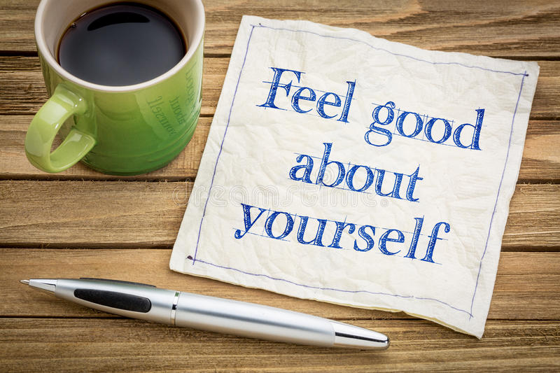 Känsel som är bra om dig rådgivning arkivfoton