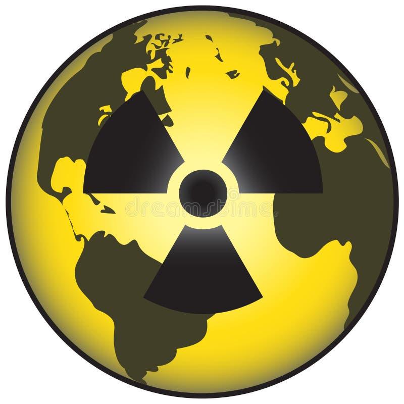 kärn- värld royaltyfri illustrationer