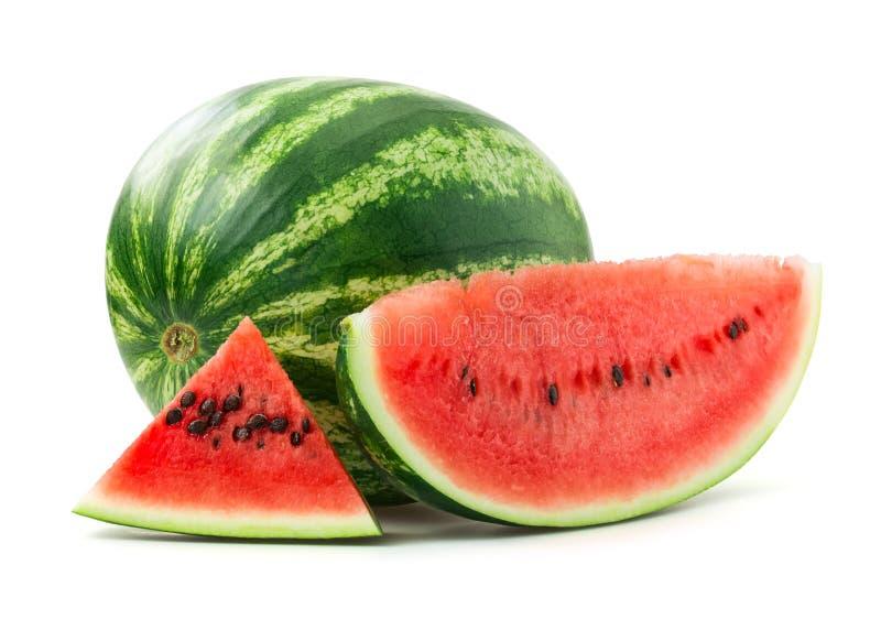 kärnad ur vattenmelon royaltyfria bilder