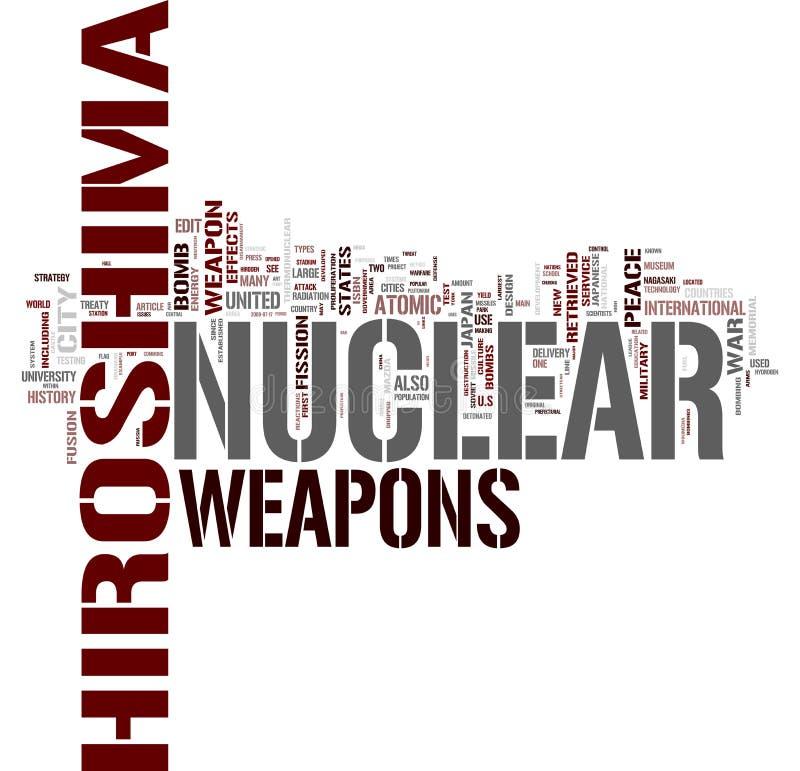 kärnvapen royaltyfri illustrationer