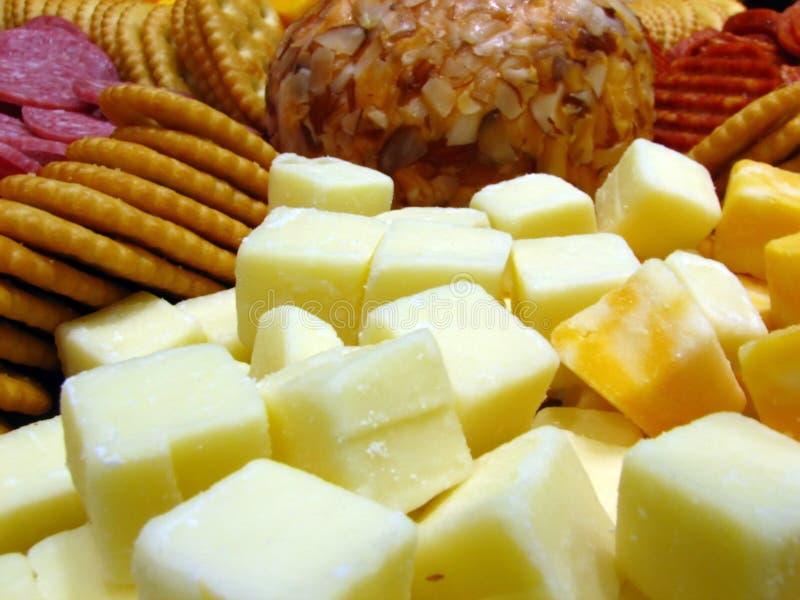 Käse-Tellersegment lizenzfreies stockbild