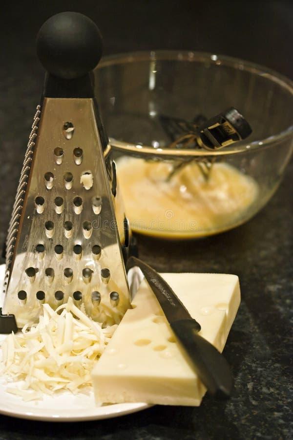 Käse und Eier stockbilder