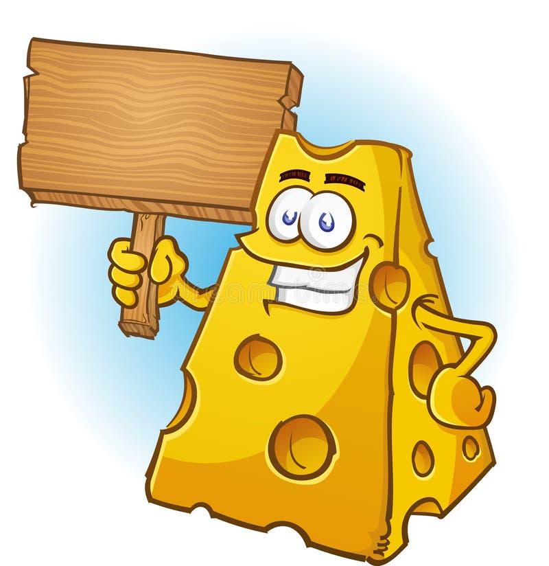Download Käse-Zeichen, Das Ein Zeichen Anhält Vektor Abbildung - Illustration von protest, bestandteil: 27728862
