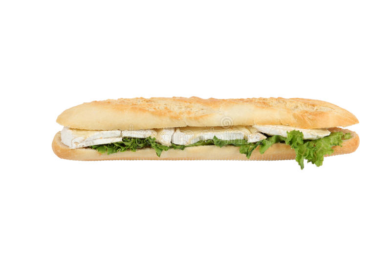 Käsesandwich lizenzfreies stockbild