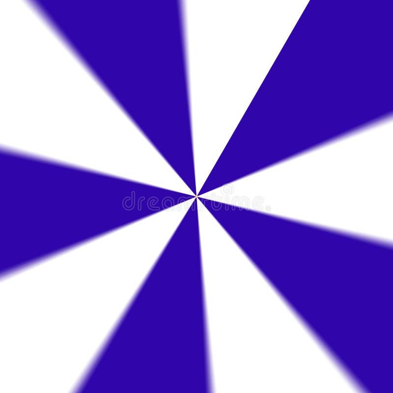 Kółkowy stały błękitny koloru abstrakta tło ilustracja wektor