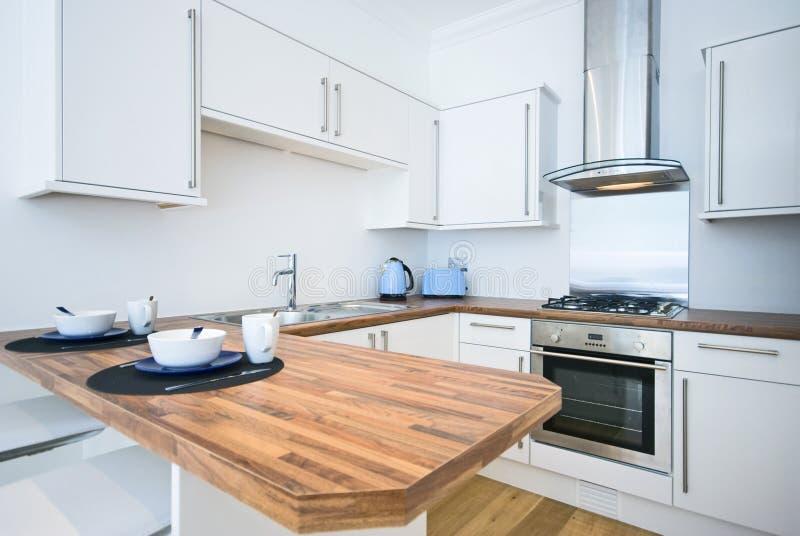 kök för stångfrukostsamtida royaltyfri bild