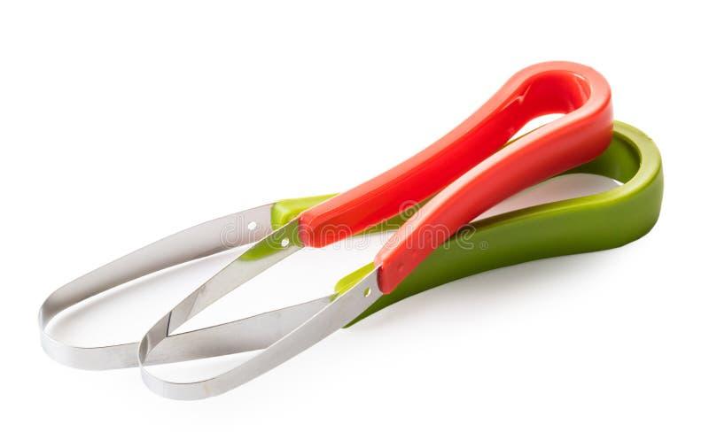 Kökhjälpmedel för att skiva frukter och grönsaker royaltyfri bild