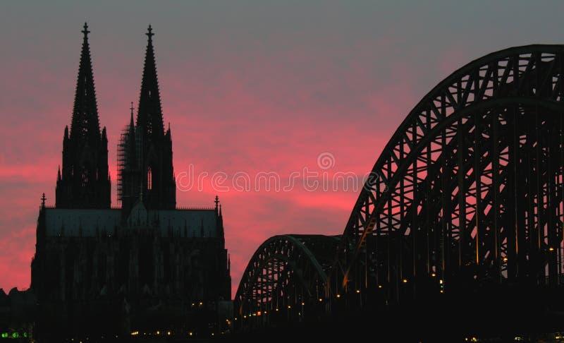 Köln Auf Feuer Lizenzfreies Stockfoto