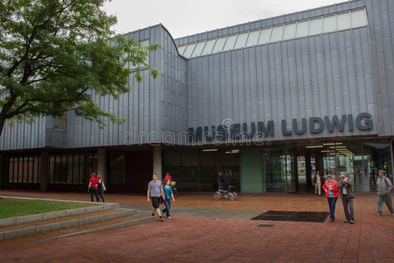 Köln, Deutschland - 13. August 2011: Museum Ludwig in Köln, GE stockfoto