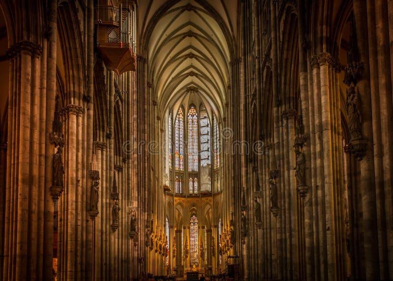 Köln dom inside royalty free stock photo
