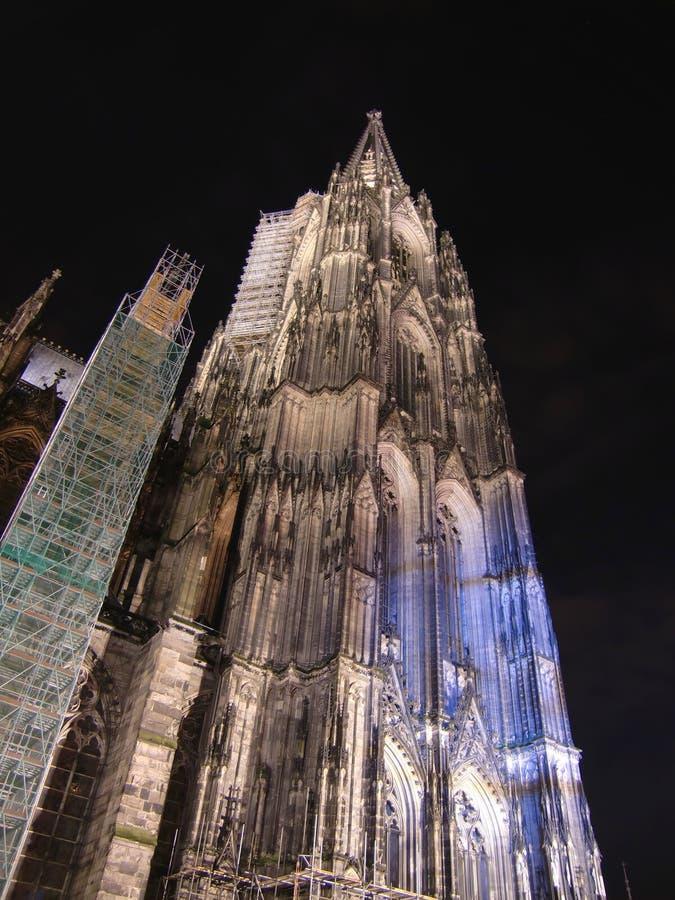 Download Köln-Haube stockfoto. Bild von stadt, nacht, europa, deutschland - 12202940