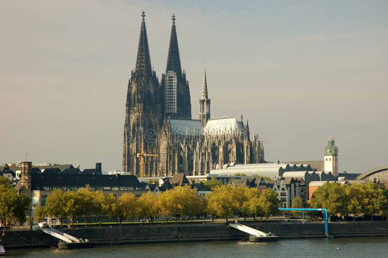 Köln-Kathedrale stockbild
