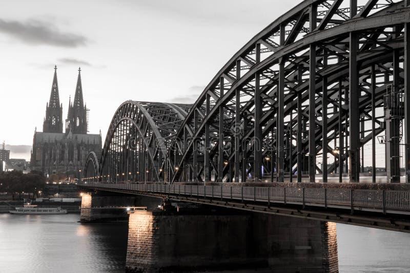 Köln-Kathedrale, Deutschland stockfotos
