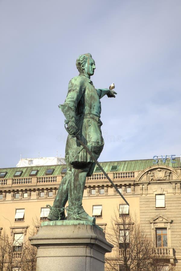 König Charles XII von Schweden stockfoto
