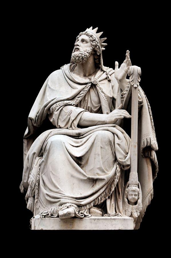 König David stockbild