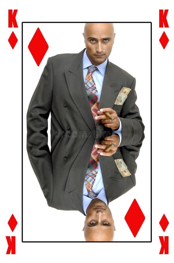 König der Diamanten lizenzfreie stockfotos