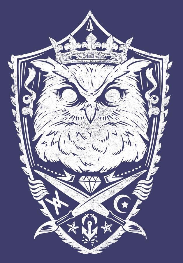 König der Nacht lizenzfreie abbildung
