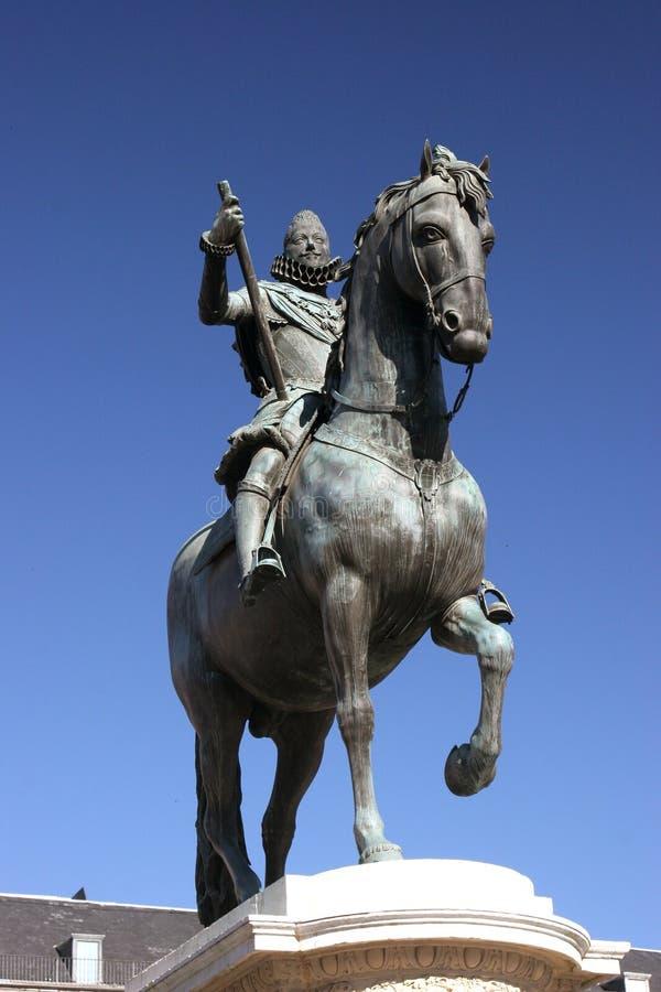König Philip III stockbilder