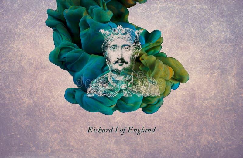 König Richard I von England stock abbildung