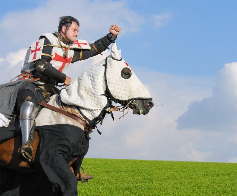 König Templar stockbild