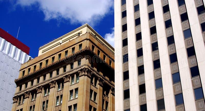 König William Street Buildings stockfotografie