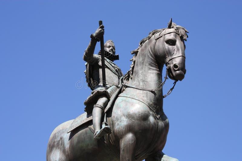 Königdenkmal stockfoto