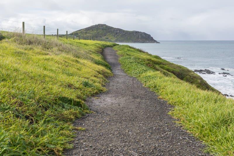 Könige Beach Path zur Täuschung, Victor Harbor, Süd-Australien P lizenzfreies stockbild