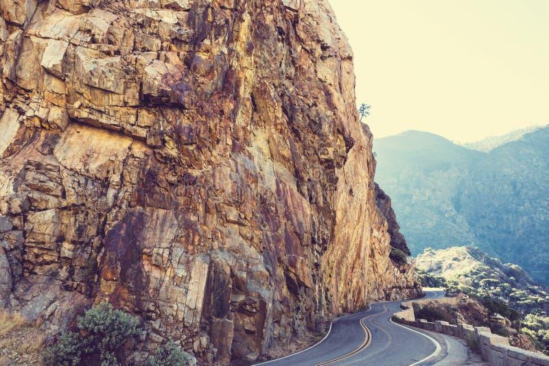 Könige Canyon stockbild
