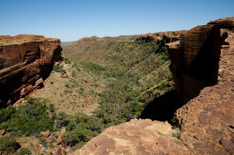 Könige Canyon - Australien lizenzfreie stockbilder