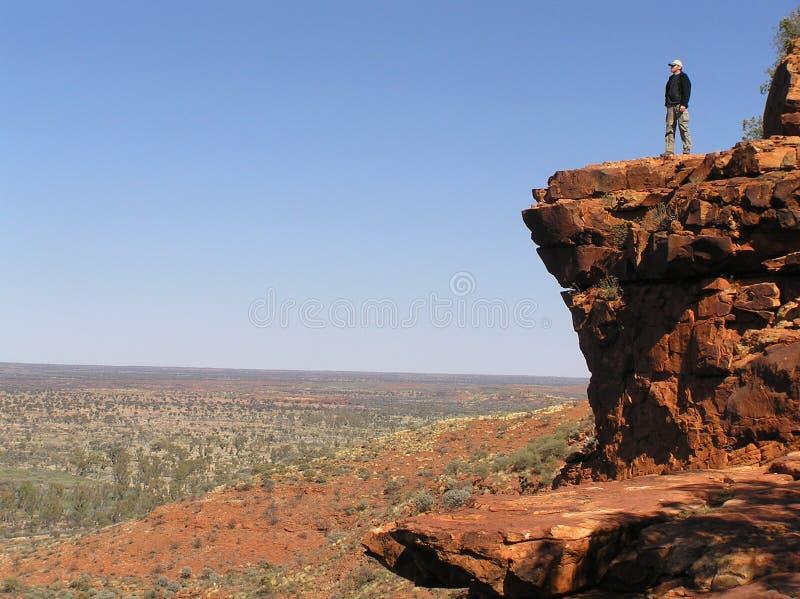 Könige Canyon Lookout lizenzfreie stockfotos