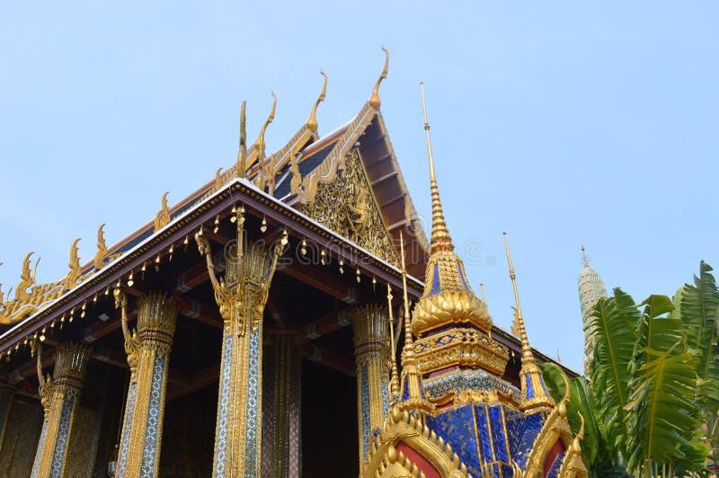 KÖNIGE PALACE BUILDING IN BANGKOK THAILAND lizenzfreie stockfotografie