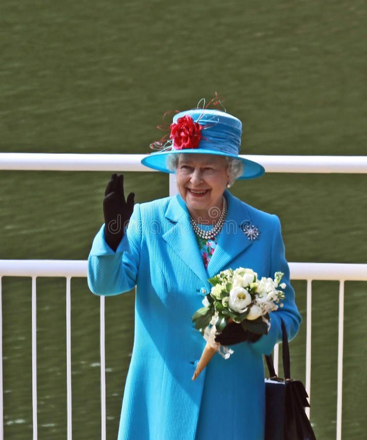Königin Elizabeth II lizenzfreies stockfoto
