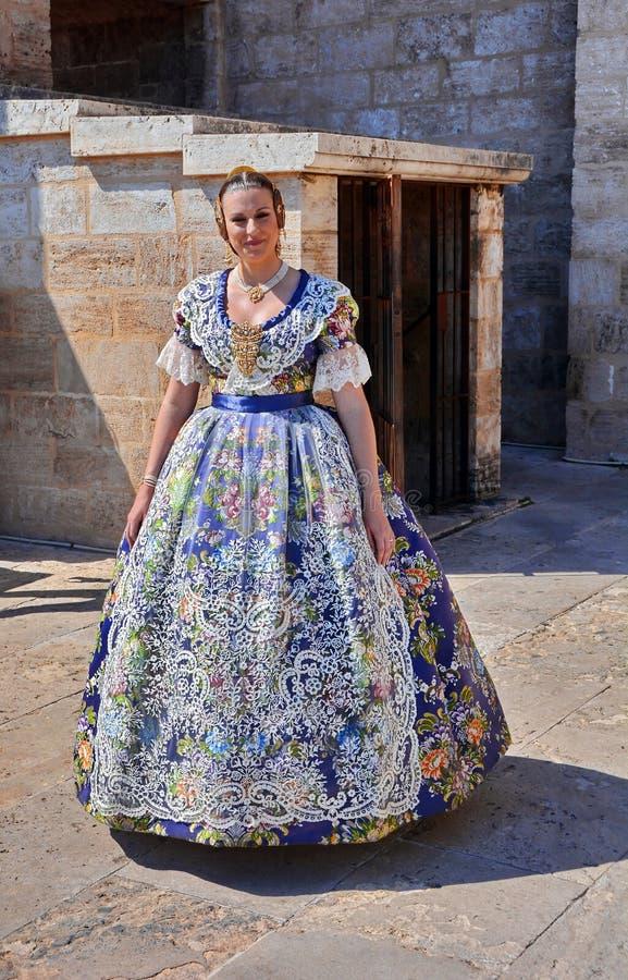 Königin im Schloss stockfotografie