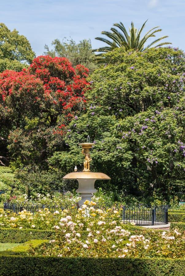 Königin ` s arbeitet in Nelson-Stadt in Neuseeland im Garten stockfotos