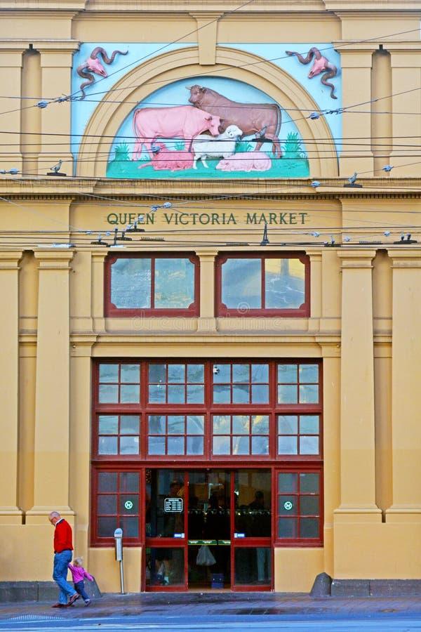Königin Victoria Market - Melbourne lizenzfreie stockbilder