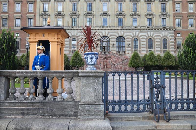 Königliche Abdeckung, Stockholm stockbild