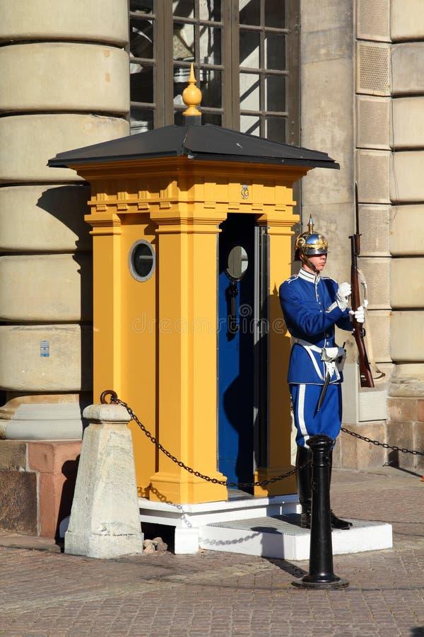 Königliche Abdeckung, Stockholm stockfotografie