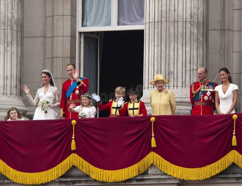 Königliche Hochzeit lizenzfreie stockfotos