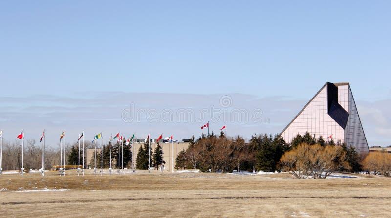 Königliche kanadische Minze in Winnipeg stockfotos
