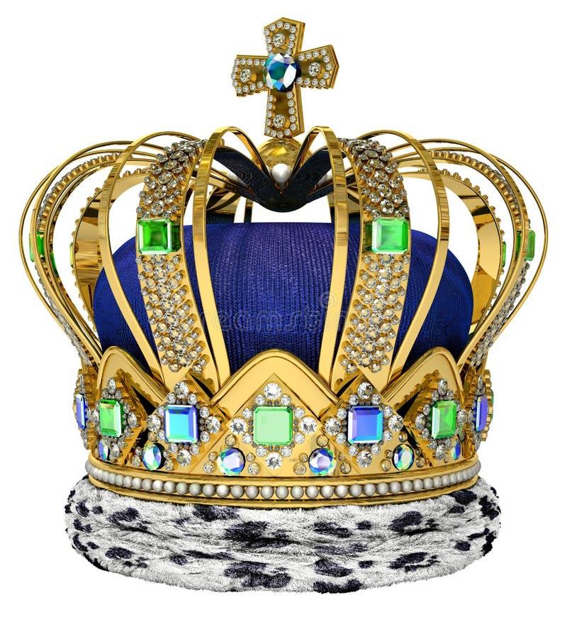 Königliche Krone stockbilder