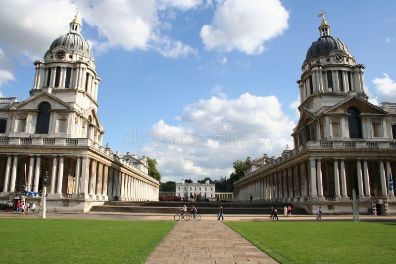 Königliche Marinehochschule Greenwich lizenzfreie stockbilder