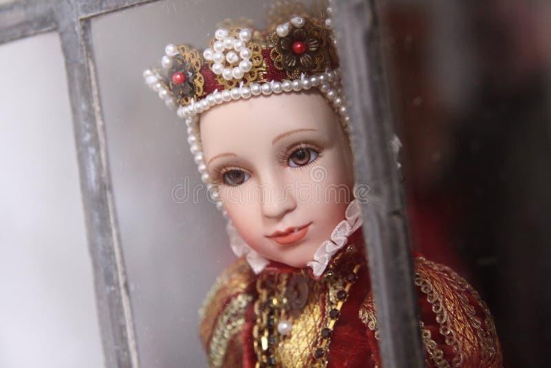 Königliche Puppe lizenzfreies stockfoto
