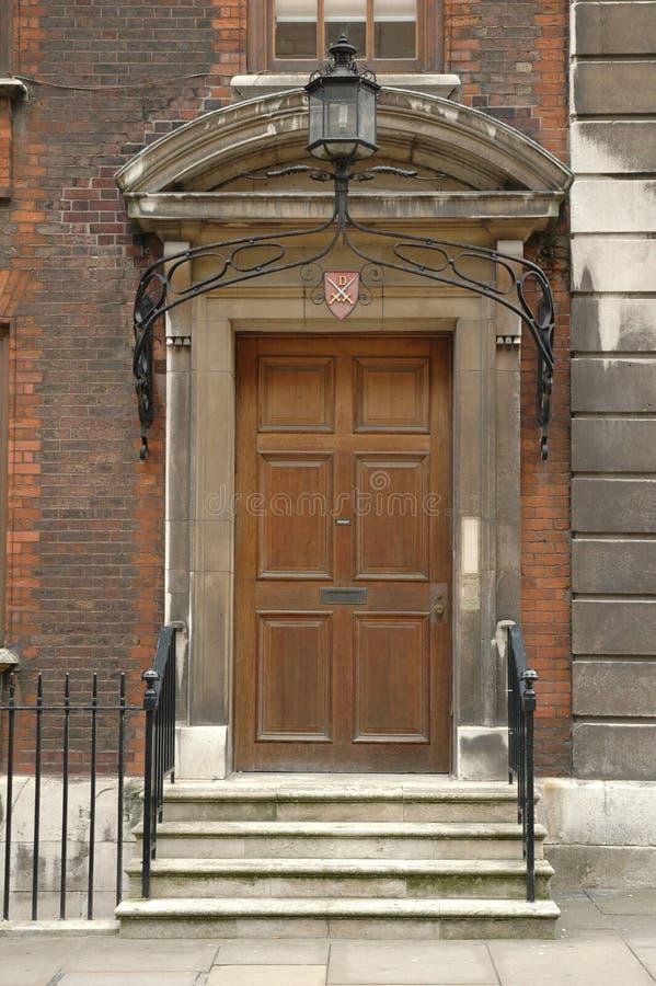 Königliche Tür lizenzfreies stockbild