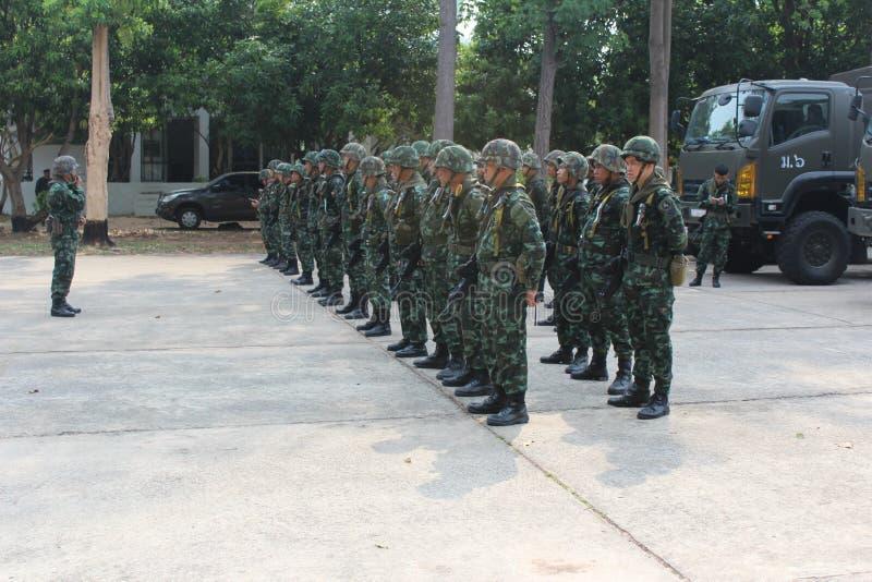 Königliche thailändische Armee stockfotos
