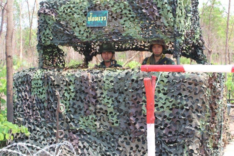 Königliche thailändische Armee stockfotografie