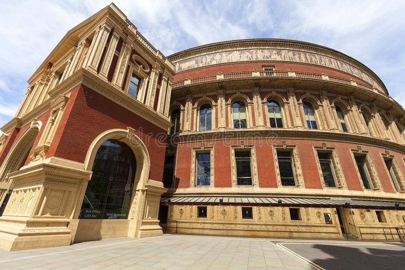 Königlicher Albert Hall, ein Konzertsaal weihte Prinzen Albert, London, Vereinigtes Königreich ein lizenzfreie stockfotografie